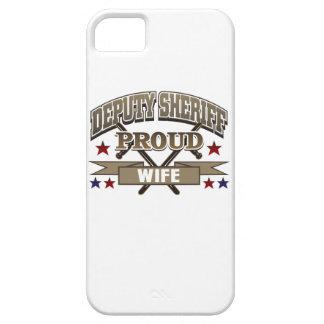 Deputy Sheriff Proud Wife iPhone SE/5/5s Case