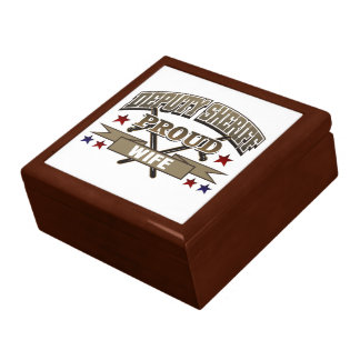 Deputy Sheriff Proud Wife Keepsake Box