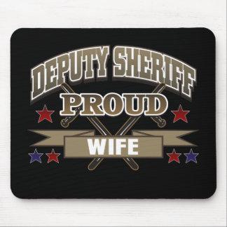 Deputy Sheriff Proud Wife Mouse Pad