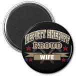 Deputy Sheriff Proud Wife Refrigerator Magnets