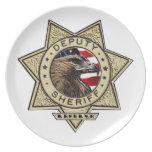 Deputy_Sheriff_Reserve Dinner Plate