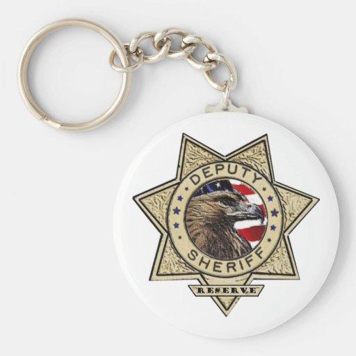 Deputy_Sheriff_Reserve Key Chain
