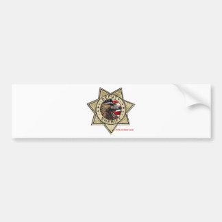 Deputy_Sheriff_Texturized Bumper Sticker