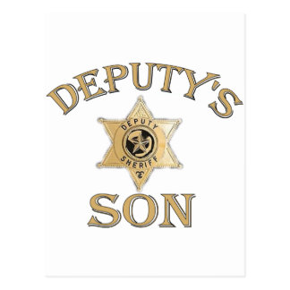 Deputy's Son Postcard