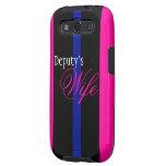 Deputy's Wife Samsung Galaxy SIII Case