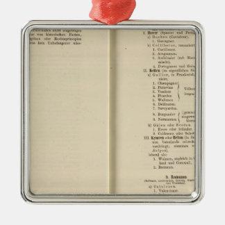 Der 1213 de Tafel de la introducción Karte XII Ornatos
