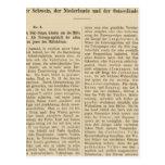 Der 1415 de Tafel de la introducción Karte XII Postal