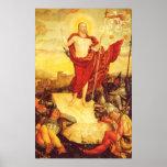 Der-Auferstandene por Lucas Cranach (1558) Posters