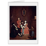 Der Barber By Pietro Longhi Cards
