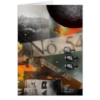 der BATALLA carte Nº6 Stationery Note Card