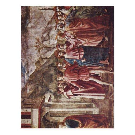 Der Brancacci-Kapelle de Masaccio Freskenzyklus en Postal