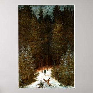 Der Chasseur im Walde Print