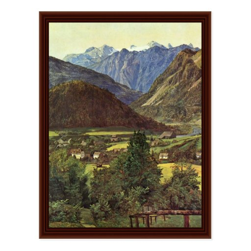 Der Dachstein By Sophie Place From Postcard