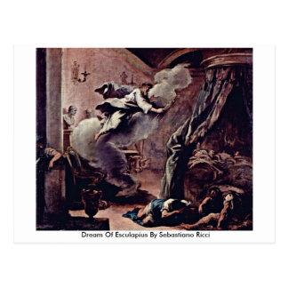 Der Dream Of Esculapius By Sebastiano Ricci Postcard