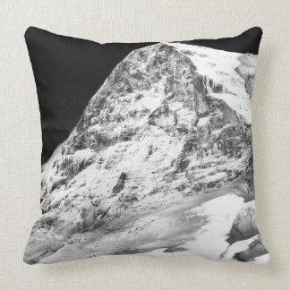 """Der Eiger Cotton Throw Pillow, 20"""" x 20"""" Throw Pillow"""