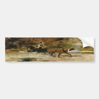 Der Einspänner by Toulouse-Lautrec Bumper Sticker