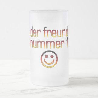 Der Freund Nummer 1 in German Flag Colors for Boys Mugs