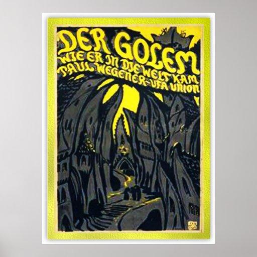 Der Golem, wie er in die Welt kam Poster