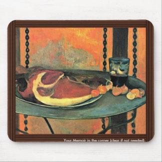 Der Ham By Gauguin Paul (Best Quality) Mouse Pad