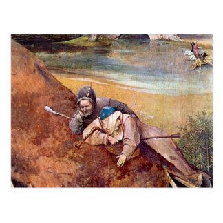 Der Könige, detalle de Epiphanie-Triptychon - de Postal
