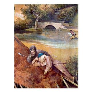Der Könige, detalle de Epiphanie-Triptychon - de Tarjetas Postales
