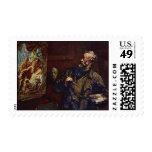 Der Maler By Daumier Honoré Postage