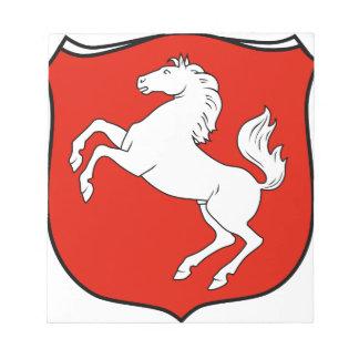 Der Provinz Westfalen 1929 de Wappen Libreta Para Notas