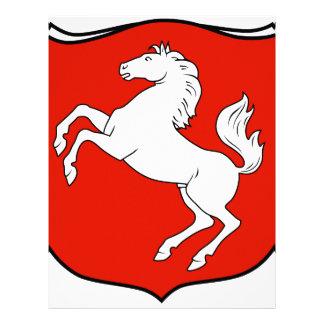 Der Provinz Westfalen 1929 de Wappen Membrete Personalizado