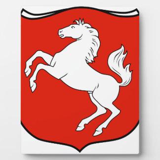 Der Provinz Westfalen 1929 de Wappen Placa De Madera