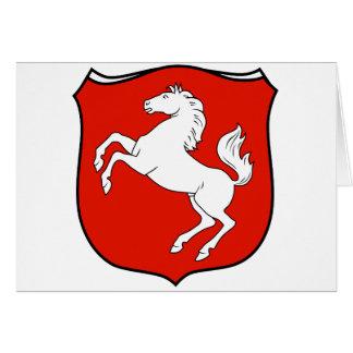 Der Provinz Westfalen 1929 de Wappen Felicitaciones