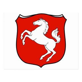 Der Provinz Westfalen 1929 de Wappen Postal