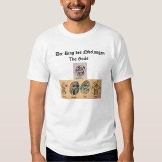 Der Ring des Nibelungen: The Gods T-shirt