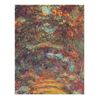 Der Rosenweg in Giverny Letterhead