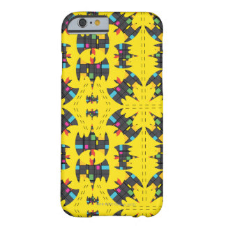 Der Stijl Bat Symbol Pattern Barely There iPhone 6 Case