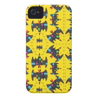 Der Stijl Bat Symbol Pattern iPhone 4 Case
