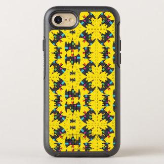 Der Stijl Bat Symbol Pattern OtterBox Symmetry iPhone 8/7 Case