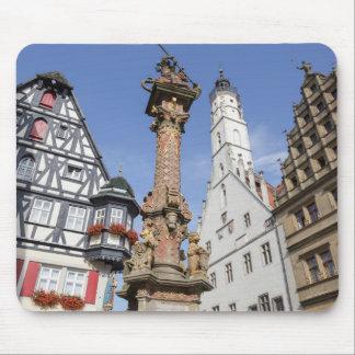 Der Tauber del ob de Rothenburg Tapete De Raton