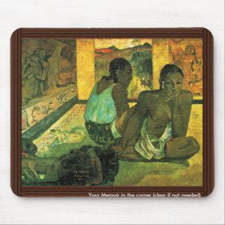 Der Traum (Te Rerioa) By Gauguin Paul Mouse Pad