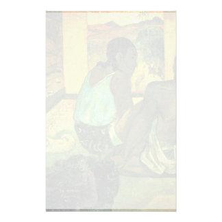 Der Traum (Te Rerioa) By Gauguin Paul Stationery Paper