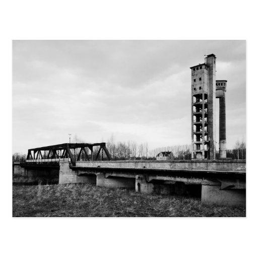 Der Turm von Crossen Postcards