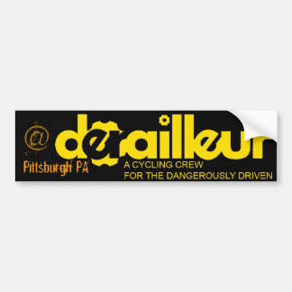 DERAILED, @ Pittsburgh PA Bumper Sticker