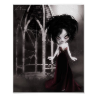 Deranged Dolly Alone Poster