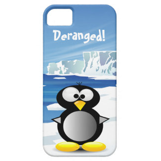 Deranged Penguin iPhone SE/5/5s Case