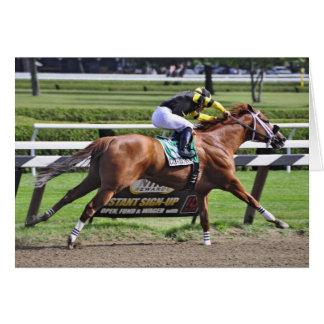 "Derby and Dubai winning Jockey ""Joel Rosario"" Card"