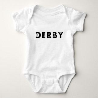 derby baby : skullphabet baby bodysuit