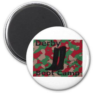 Derby boot camp! 2 inch round magnet