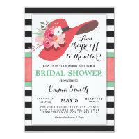 Derby Bridal Shower Invitation Wear a Hat Horse