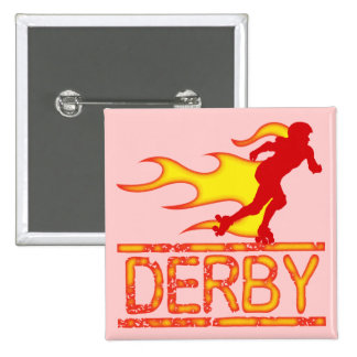Derby 2 Inch Square Button