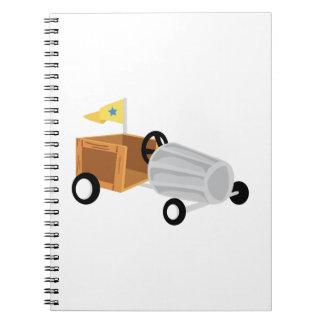 Derby Car Notebooks