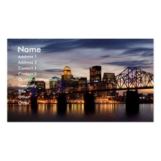 Derby City Double-Sided Standard Business Cards (Pack Of 100)